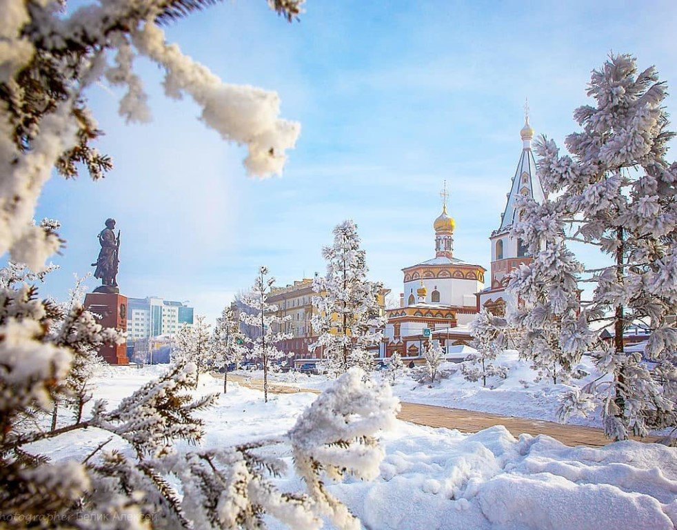 Irkutsk in winter image