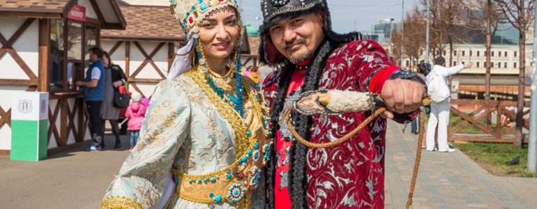 Home of Tatar people of Russia image