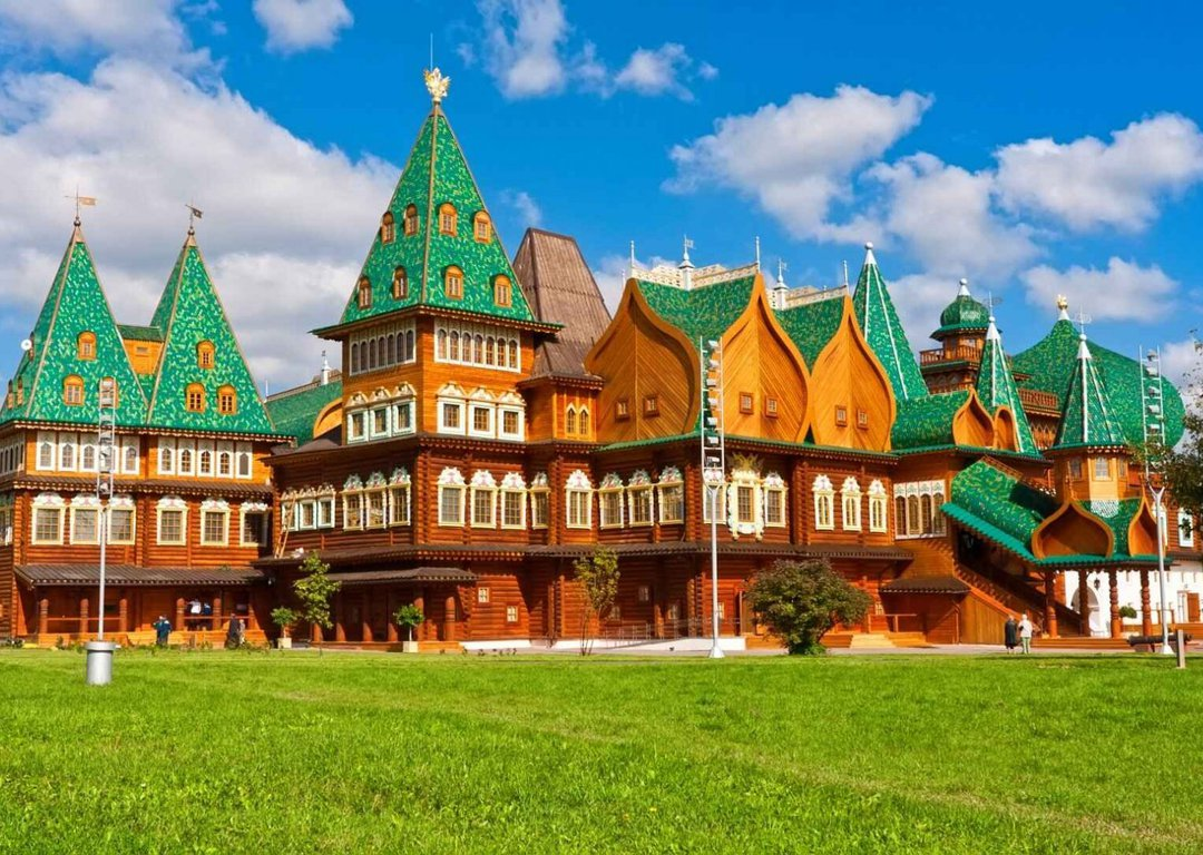 Wooden palace in Kolomenskoe image