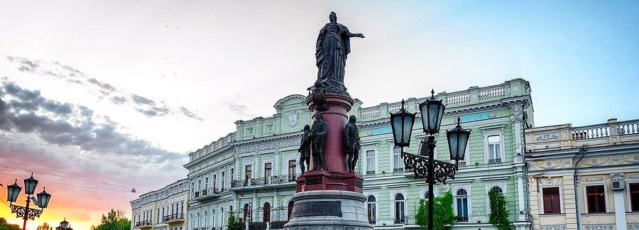 Monument to the founders of Odessa image