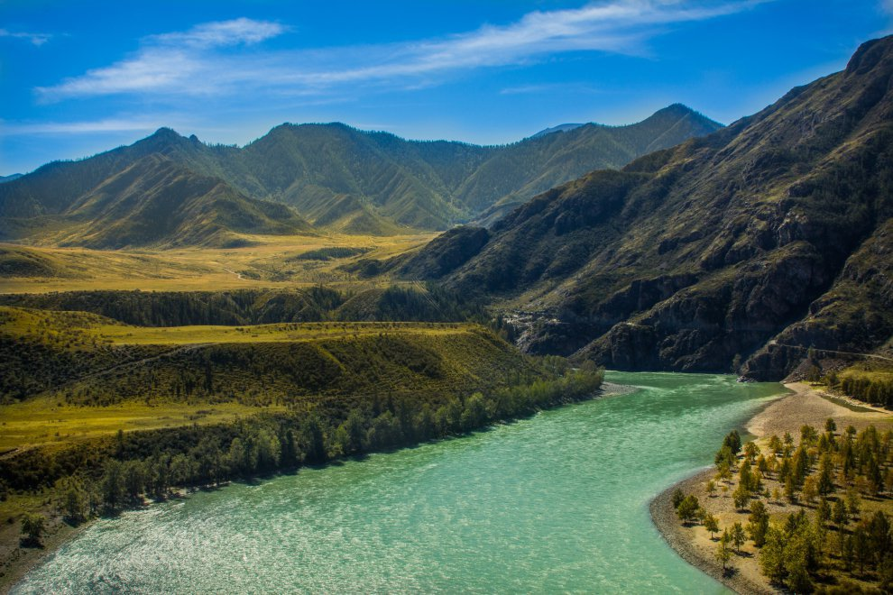 The best Altai offers stars south-east from Ongudai image