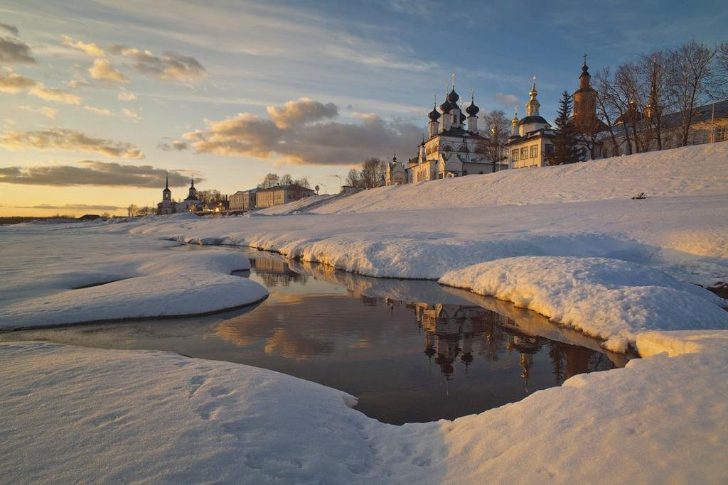 Pskov in winter image