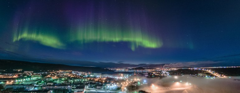 Northern Lights in Murmansk image