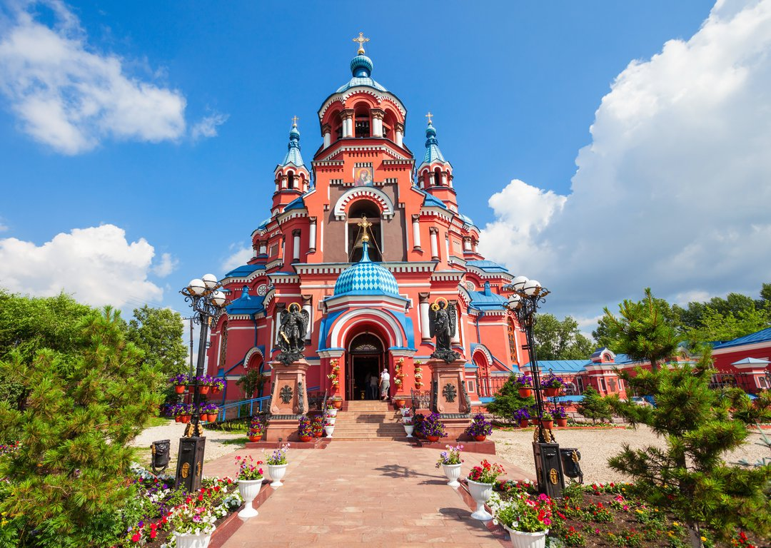 CATHEDRAL OF THE KAZAN ICON OF THE MOTHER OF GOD, IRKUTSK image
