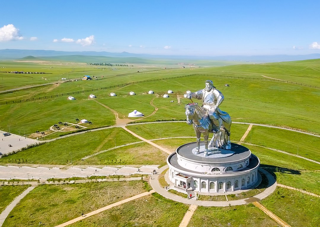 THE GENGHIS KHAN EQUESTRIAN STATUE image