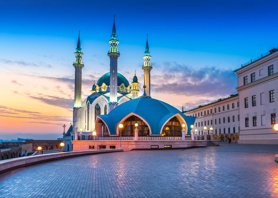 THE KUL SHARIF MOSQUE IN KAZAN KREMLIN image