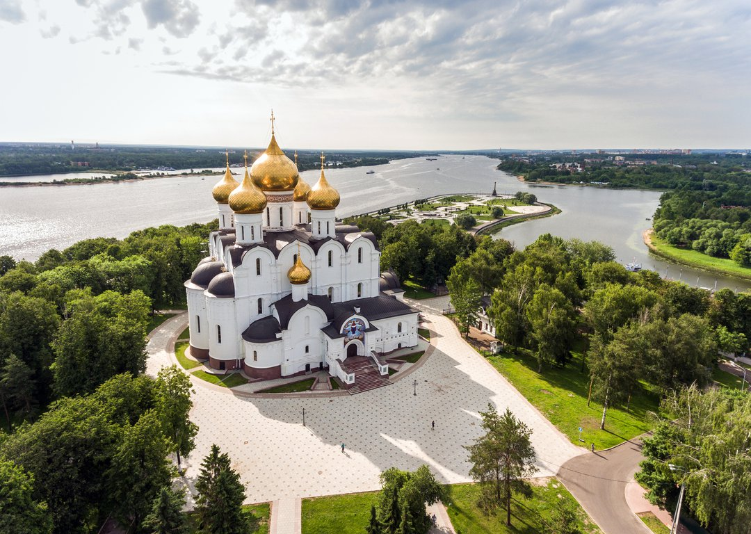 The Assumption Cathedral, Yaroslavl image