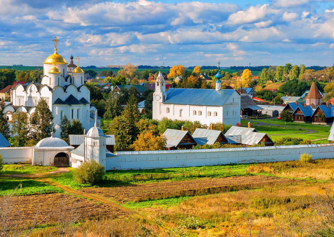 Panorama of Intercession (Pokrovsky) Monastery, Suzdal image