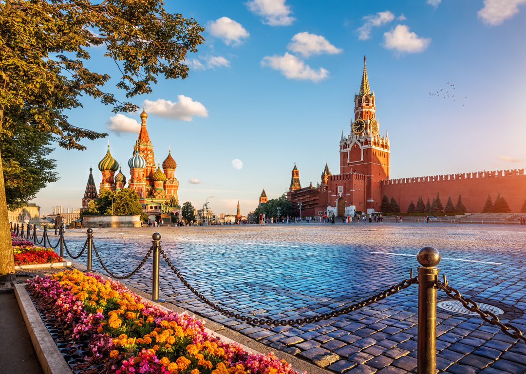 The Moscow Kremlin & Red Square image