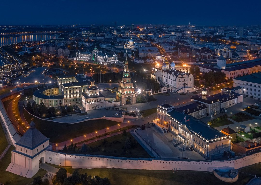 Kazan at night image