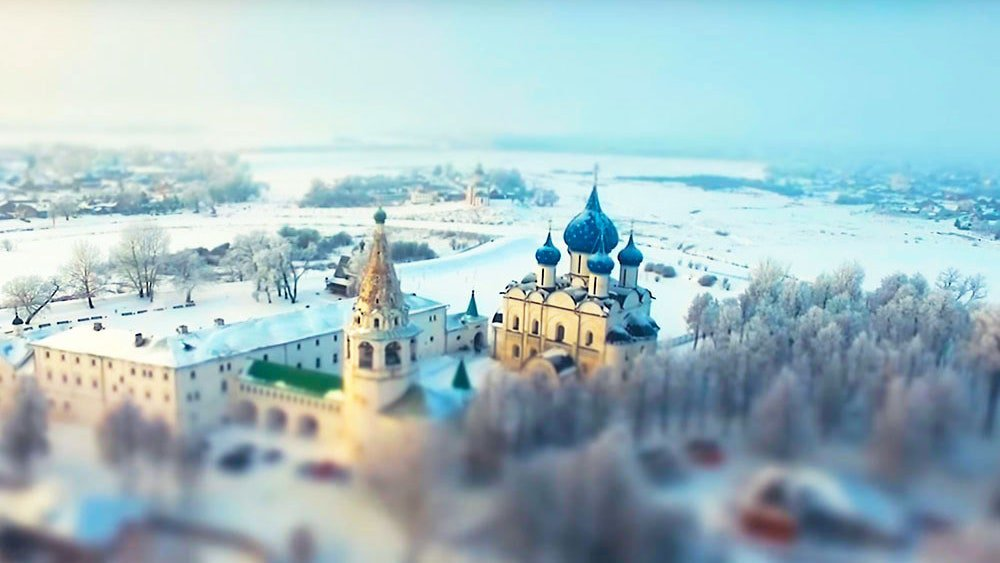 Suzdal in winter image