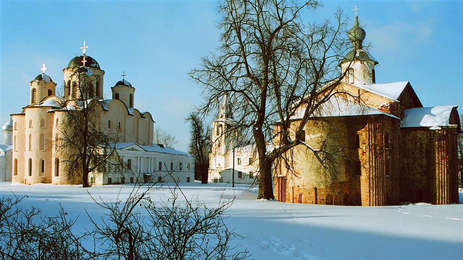 The Kremlin in Veliky Novgorod image