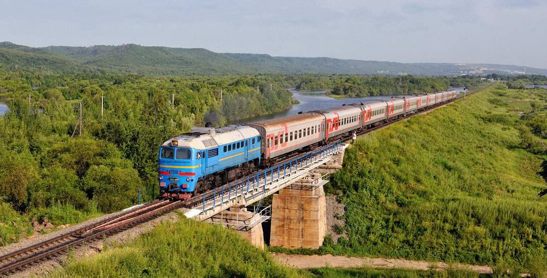 Trans Siberian train ride image