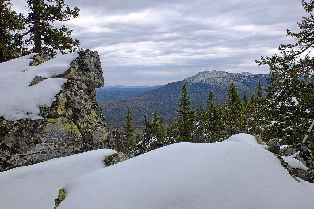 Ural mountains image