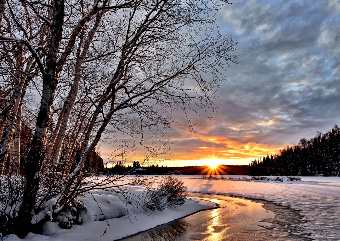 WINTER LANDSCAPES IN RUSSIA image